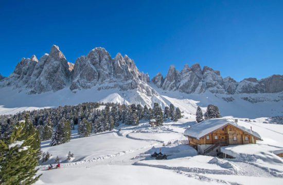 Winter holiday in Funes - Dolomites 2