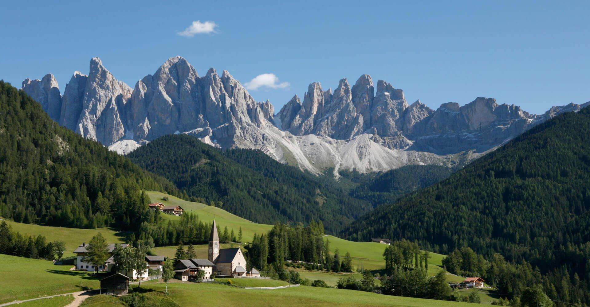 Wanderurlaub Südtirol - Urlaub in den Bergen