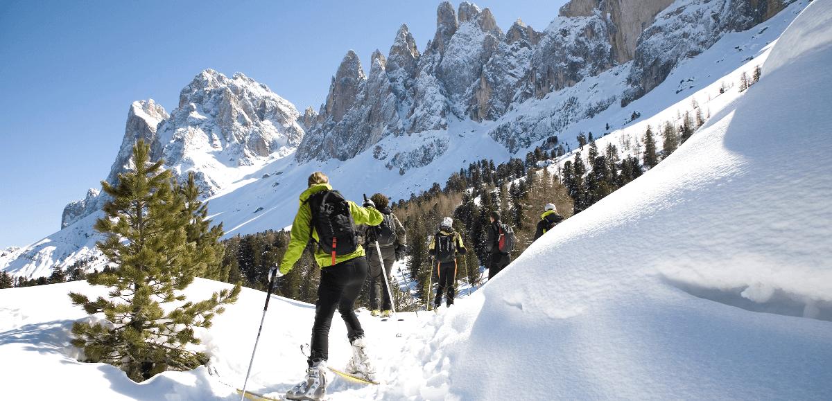 Sci alpinismo a Funes - alla ricerca delle origini