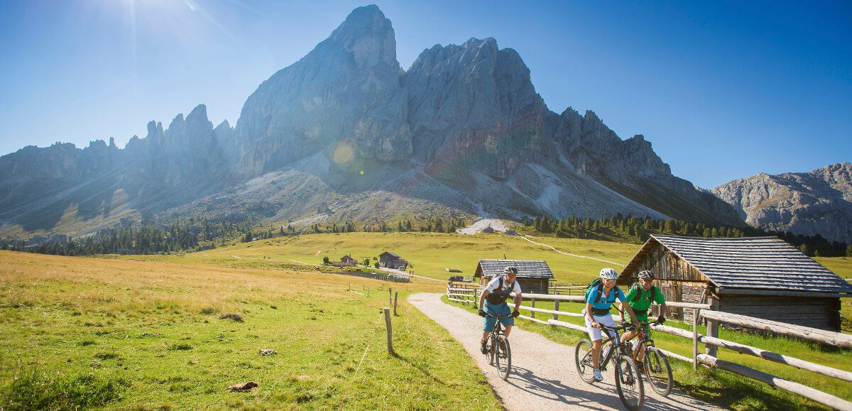 E-bike & Mountain bike in Alto Adige: in giro su due ruote