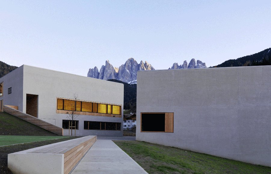 Centro visite Puez-Odle a Funes nel cuore del Parco Naturale Puez-Odle