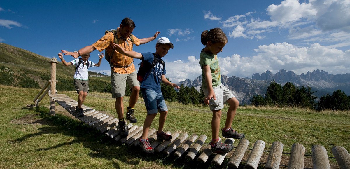 Qui da noi la vostra vacanza in famiglia nelle Dolomiti diventa un'esperienza indimenticabile