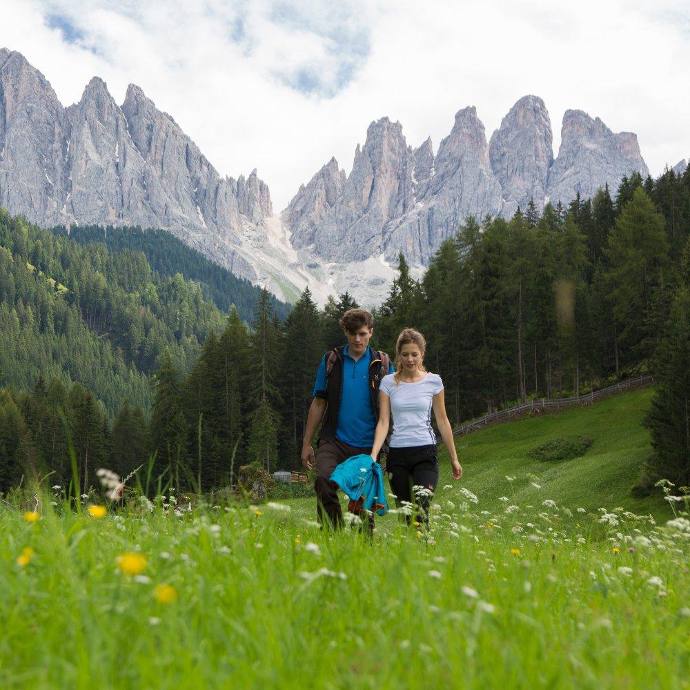 Vacanza estiva nelle Dolomiti: ogni giorno un'avventura