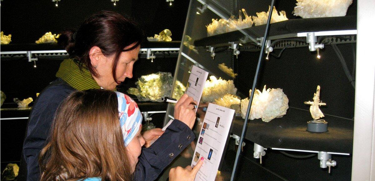 Le sfere di Tiso nel Museo mineralogico a Tiso
