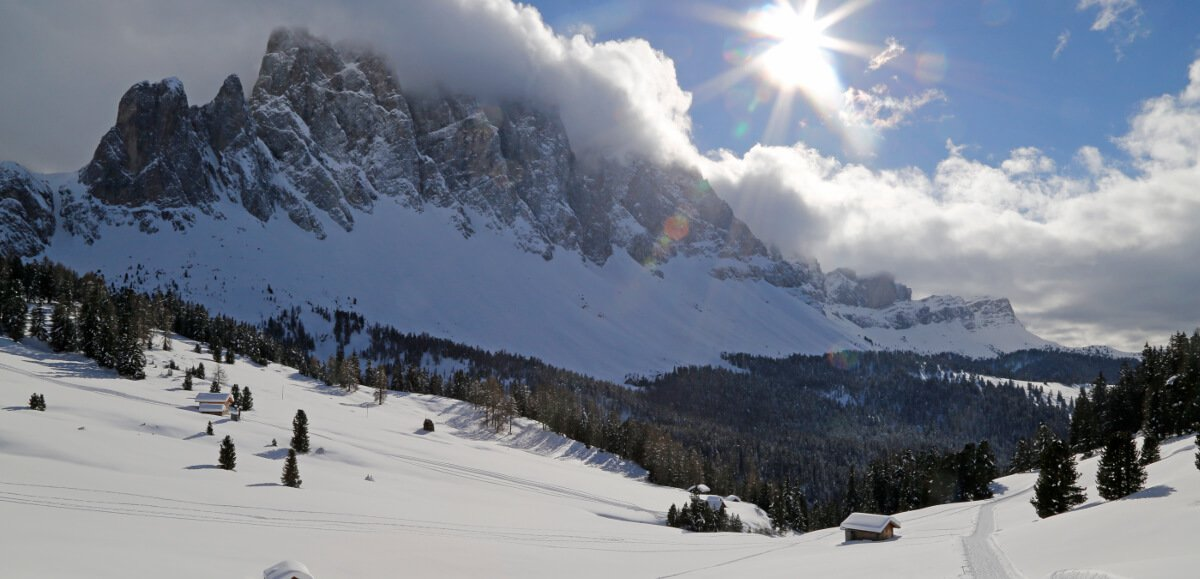 Winter holidays in the Dolomites - let yourself be enchanted