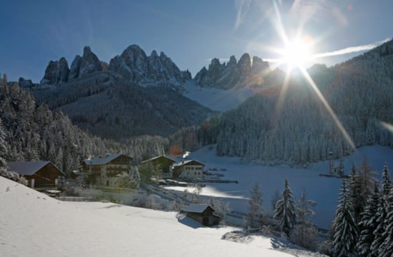 Winter holiday in Funes - Dolomites 9