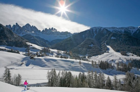 Winter holiday in Funes - Dolomites 10
