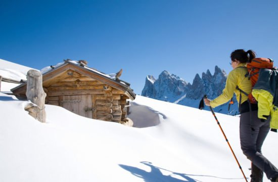 Winter holiday in Funes - Dolomites 5